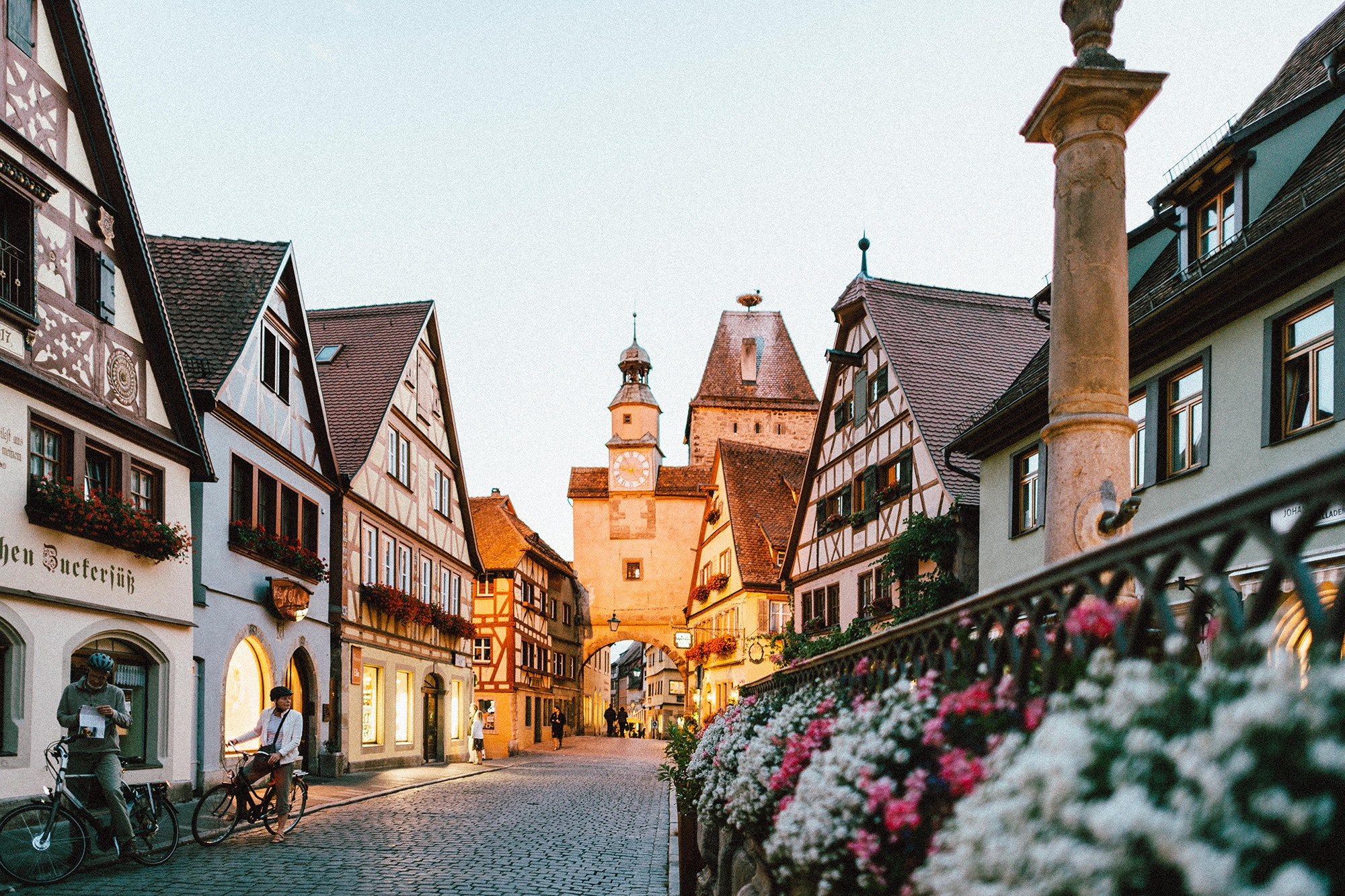 Small towns like the Bavarian village of Rothenburg ob der Tauber, Germany, are becoming increasingly popular to visit.