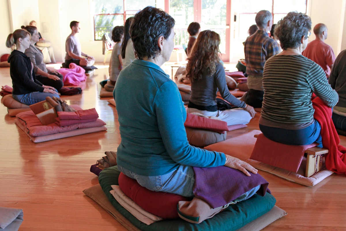 California's Spirit Rock offers drop-in meditation programs and residential retreats from four nights to two months.