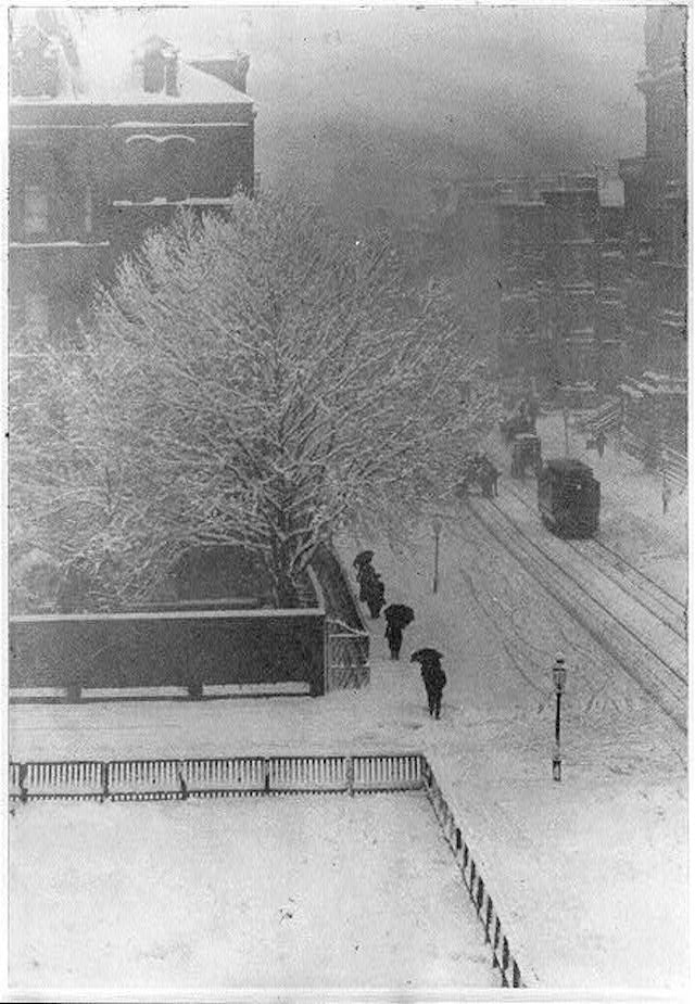 New York's morning commute in the winter has always been tough.