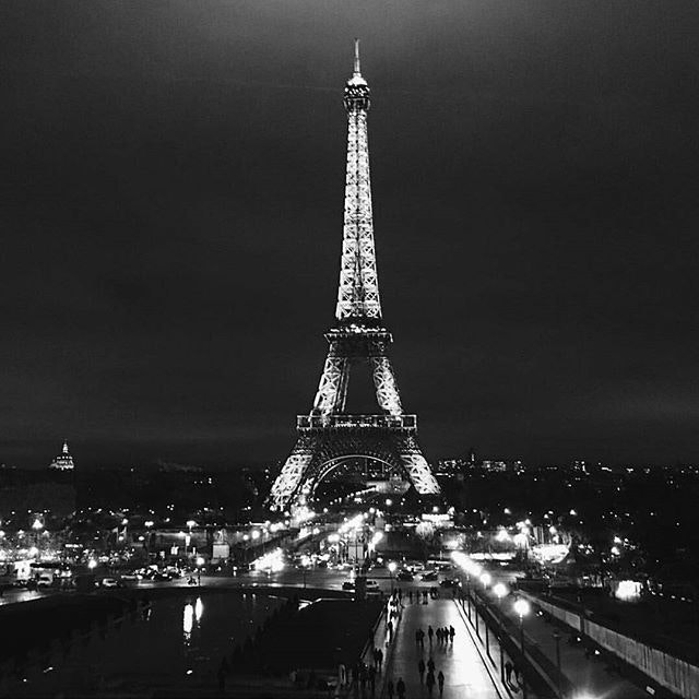 Our hearts and throughts are with the City of Light tonight. Shine through, Paris. #jesuisparis.