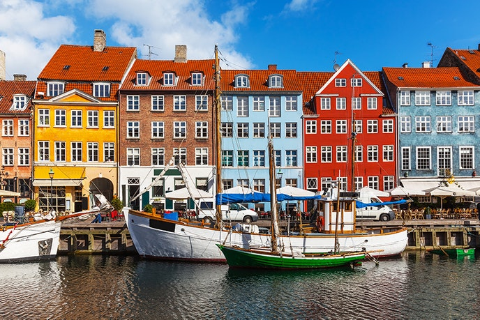 In Copenhagen, the coffee, bookstores, and cafés make for idyllic summer afternoons.