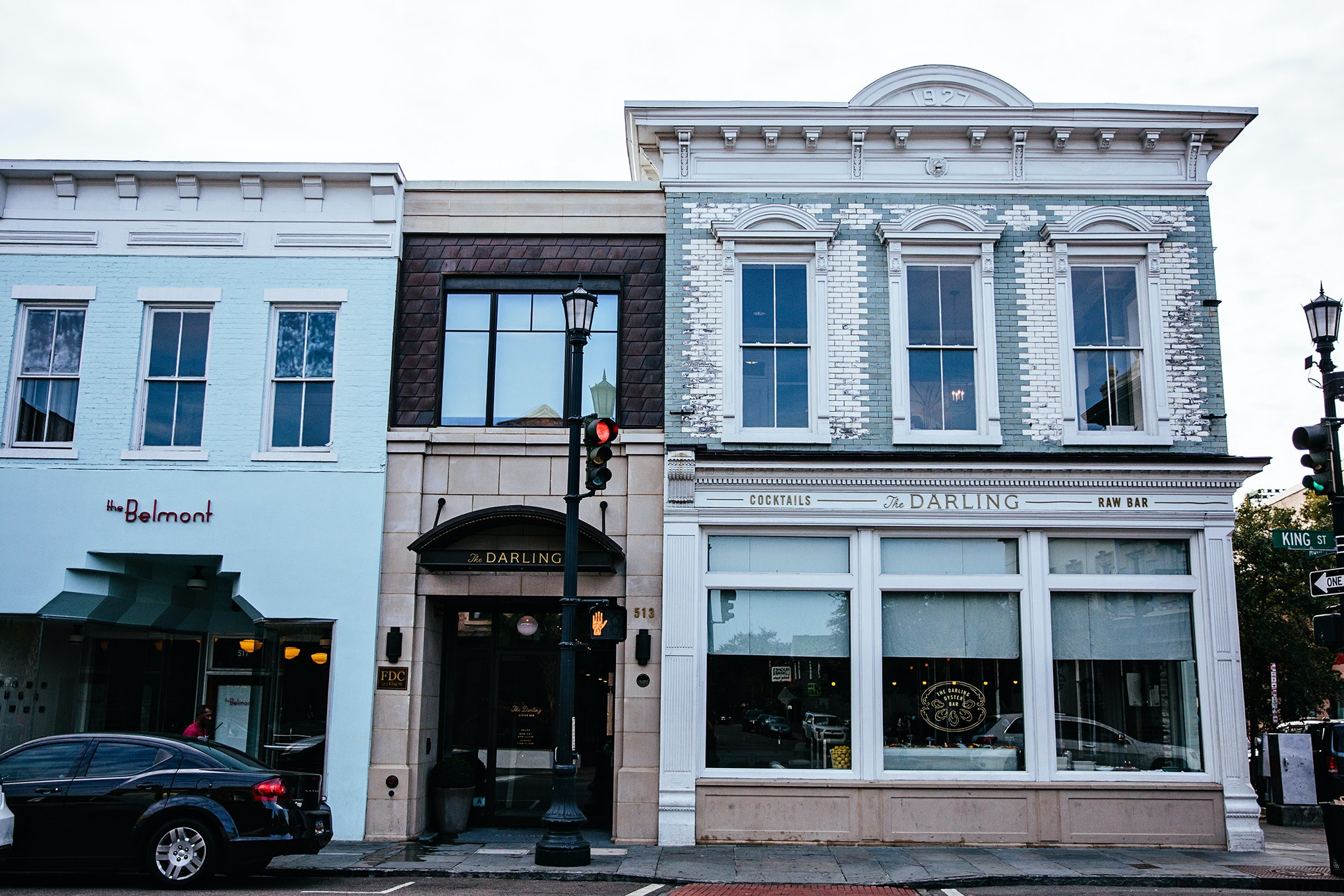 Among the myriad restaurant choices on Upper King, the Darling Oyster Bar is a favorite destination.