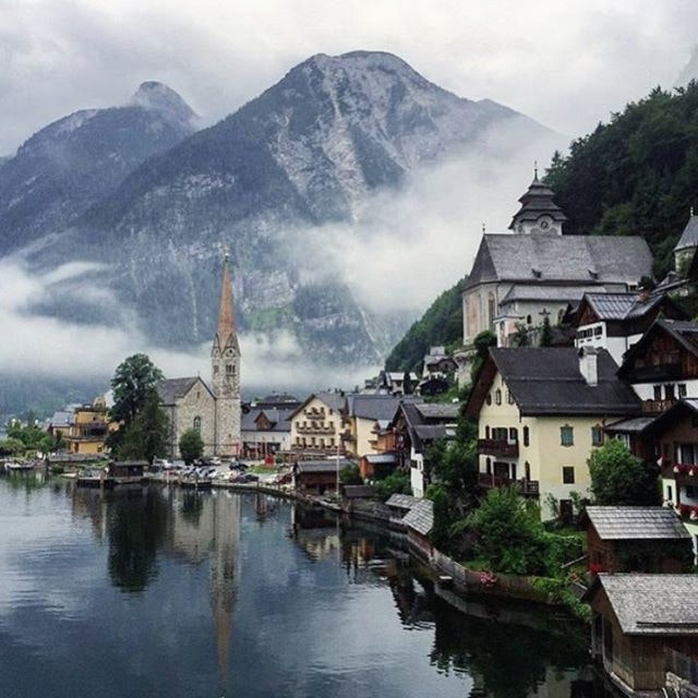 Picture-perfect Austria.