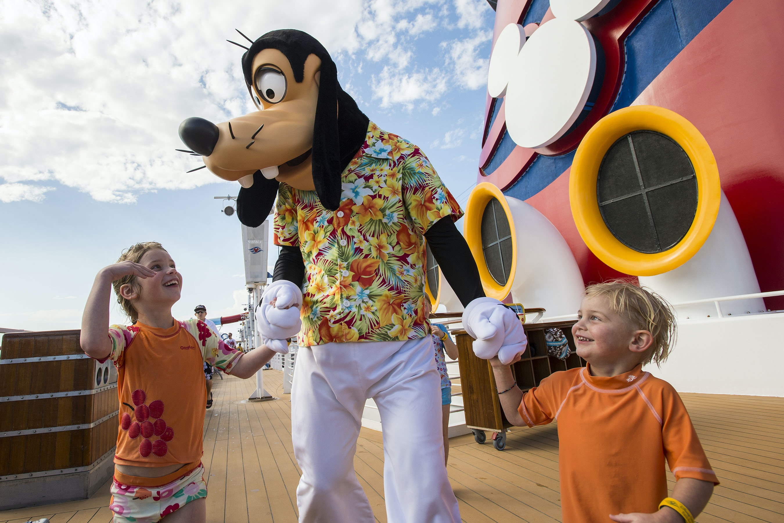 The kids will thank you for booking one of these Disney Magic cruises.