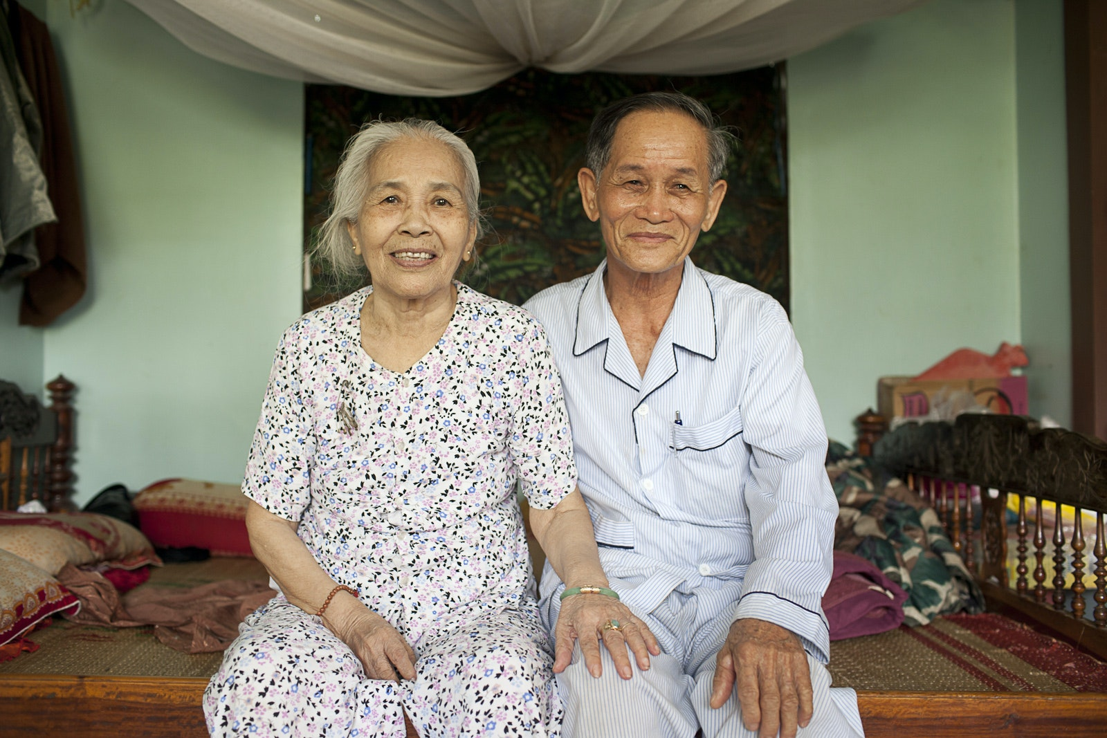 Vo Kim Mai and his wife are two of the many strangers in Vietnam who welcomed Lisa into their homes.
