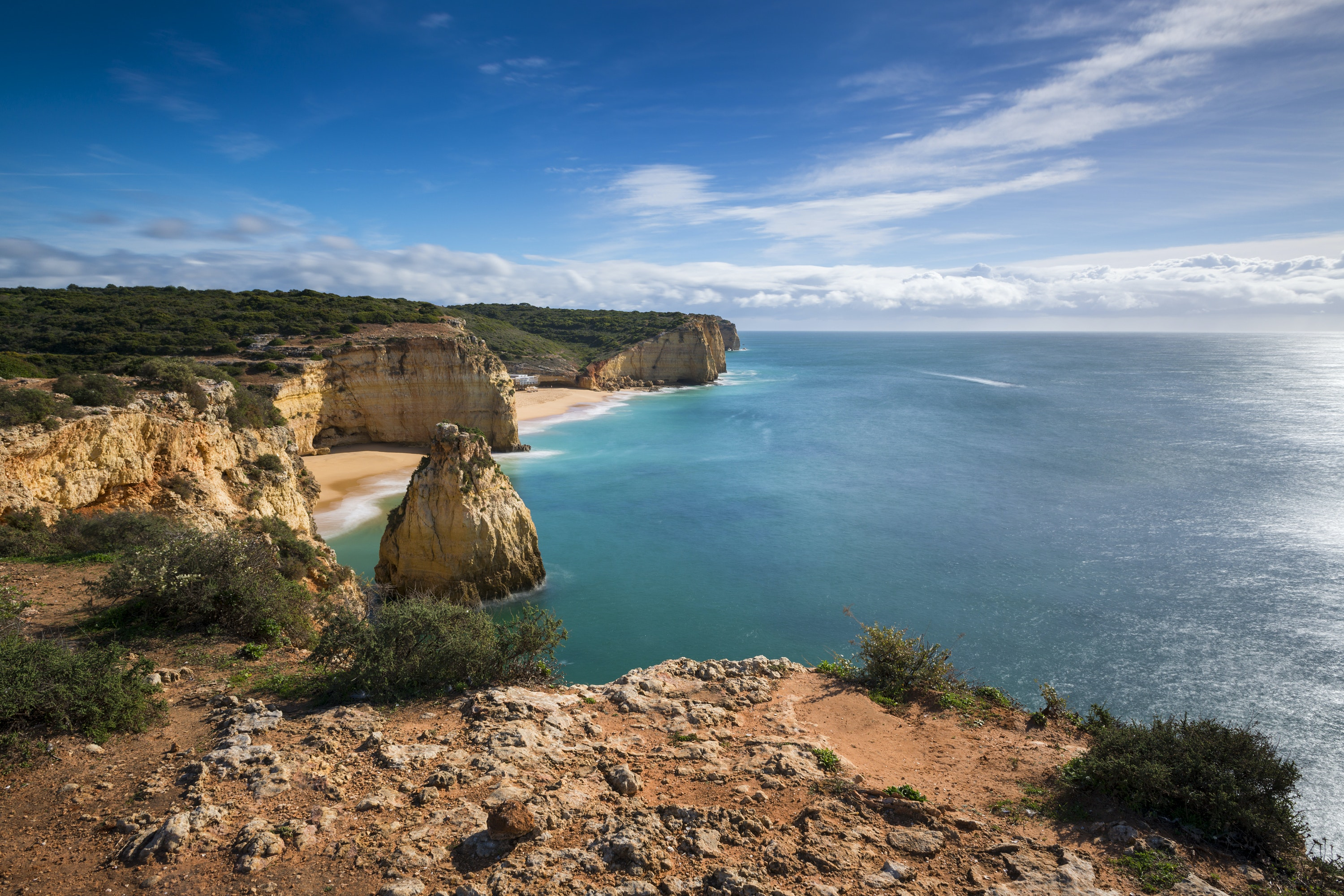 Caneiros is one of the Algarve's finest stretches of sand.
