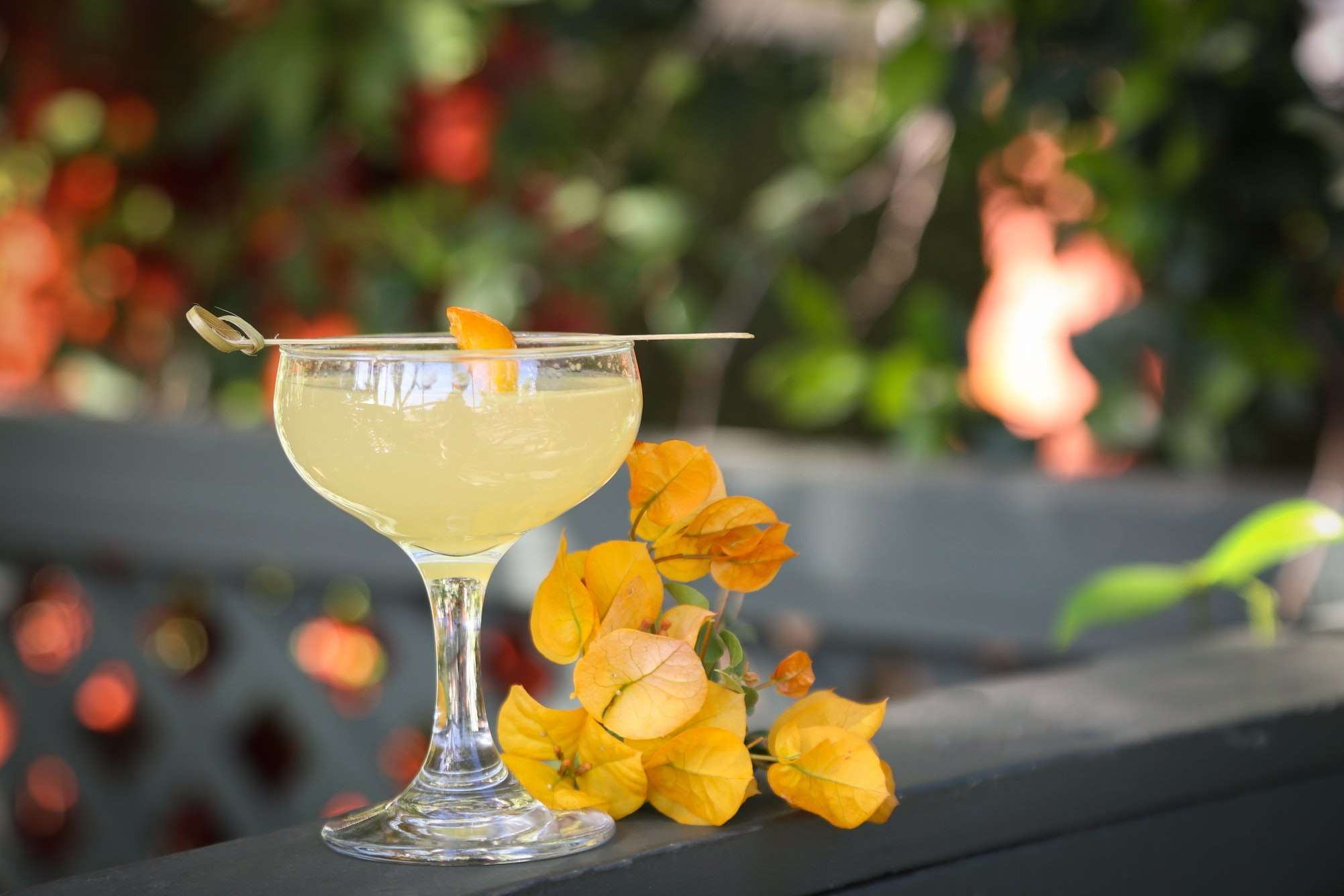 The No Sweet Without the Sour, a summery mix of vodka and kumquat from L.A.'s Big Bar