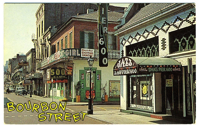 Bourbon Street in the 1970s was a must-stop on the cross-country road trip. It still is!
