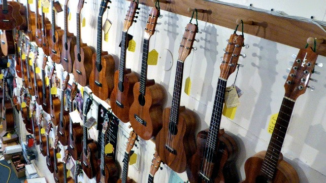 Hilo Guitars and Ukuleles