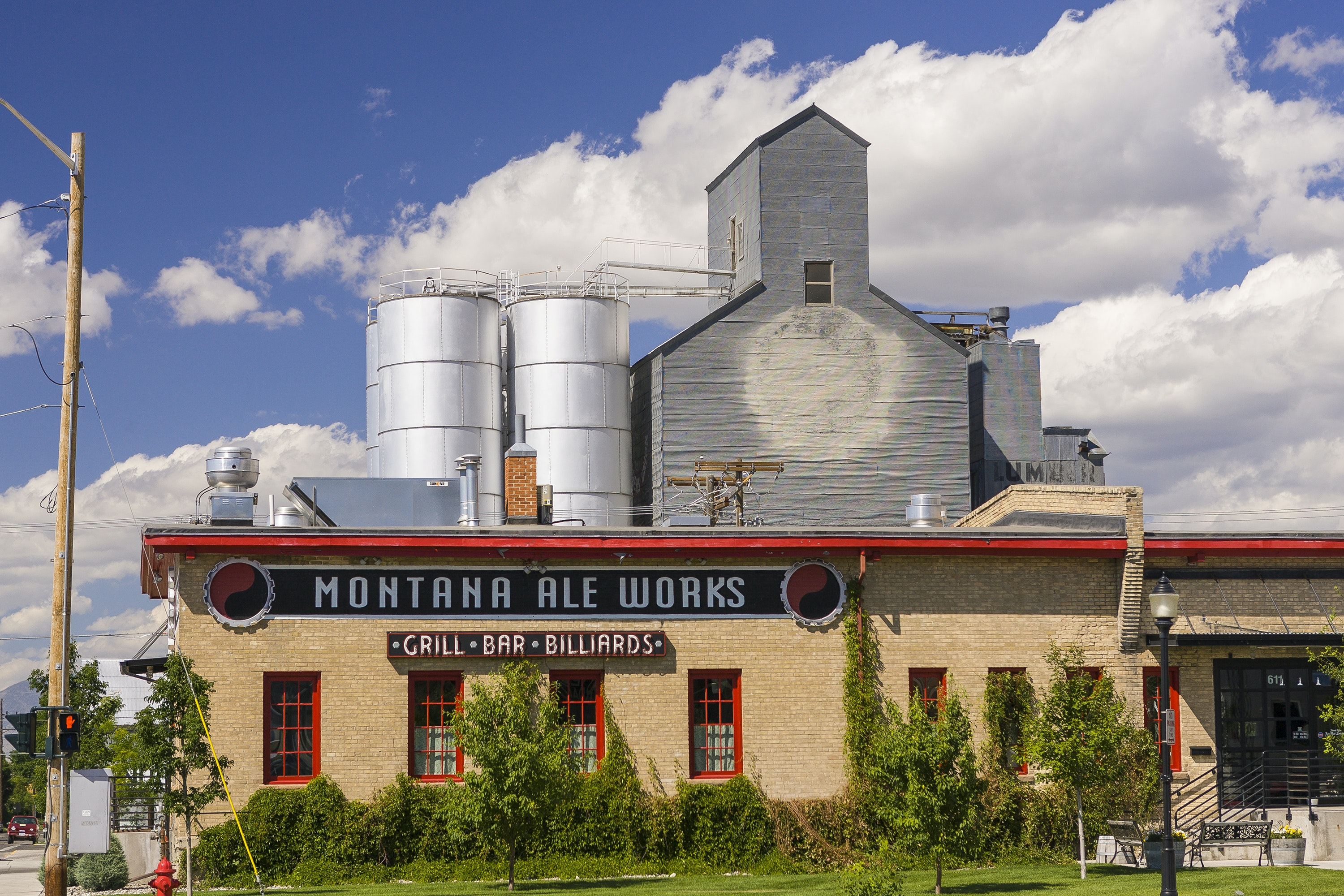Bozeman has long been known as a beer town so it's no wonder one of its best restaurants is Montana Ale Works.