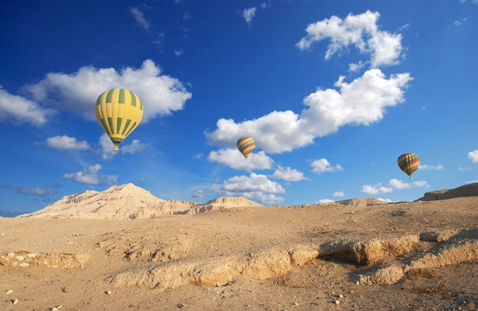 """The ancient Egyptian site of Luxor is often called """"the world's greatest open-air museum."""""""