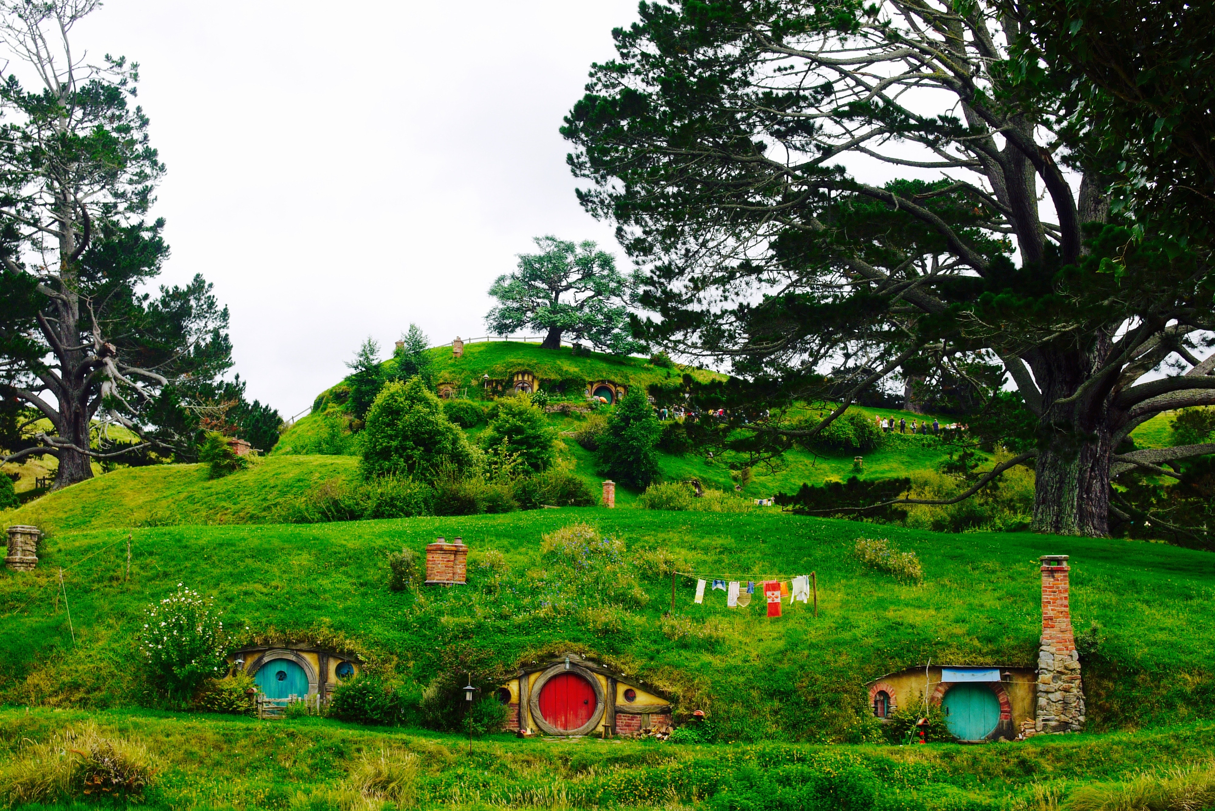 The inescapably enchanting Hobbiton
