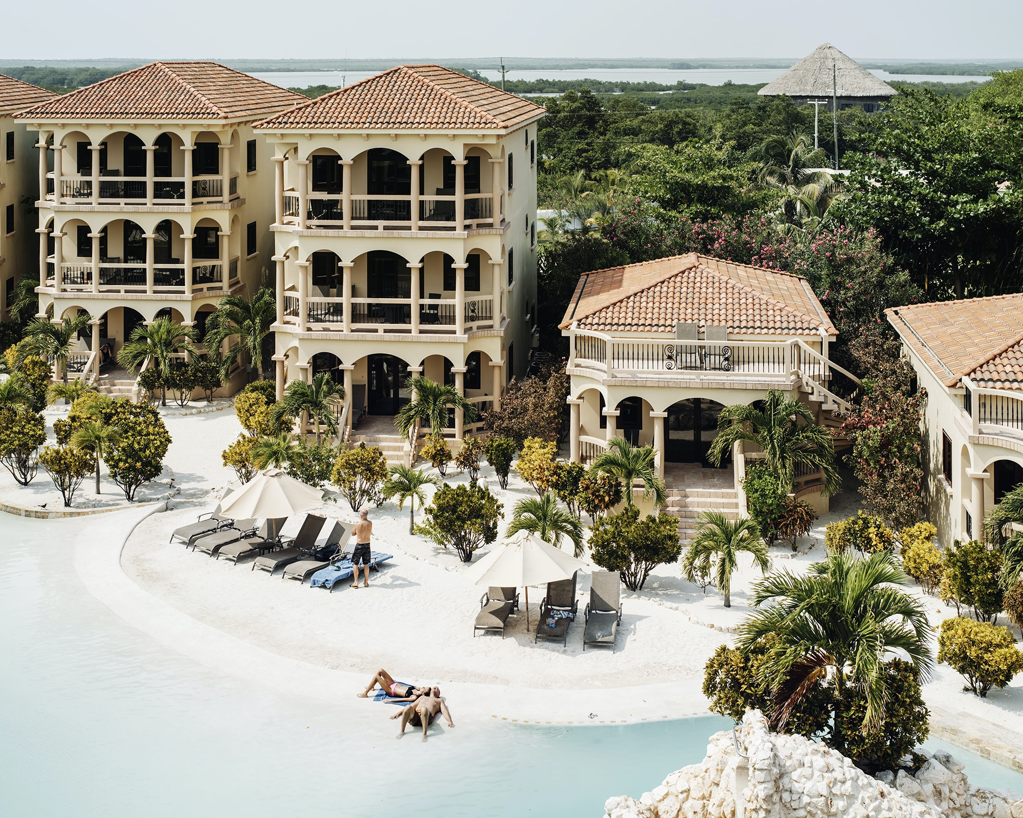 Coco Beach Resort is located on Ambergris Caye—Belize's largest island.