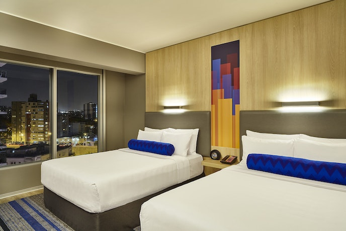 The fresh, contemporary Aloft Miraflores is a great base for exploring the most exciting parts of Lima.