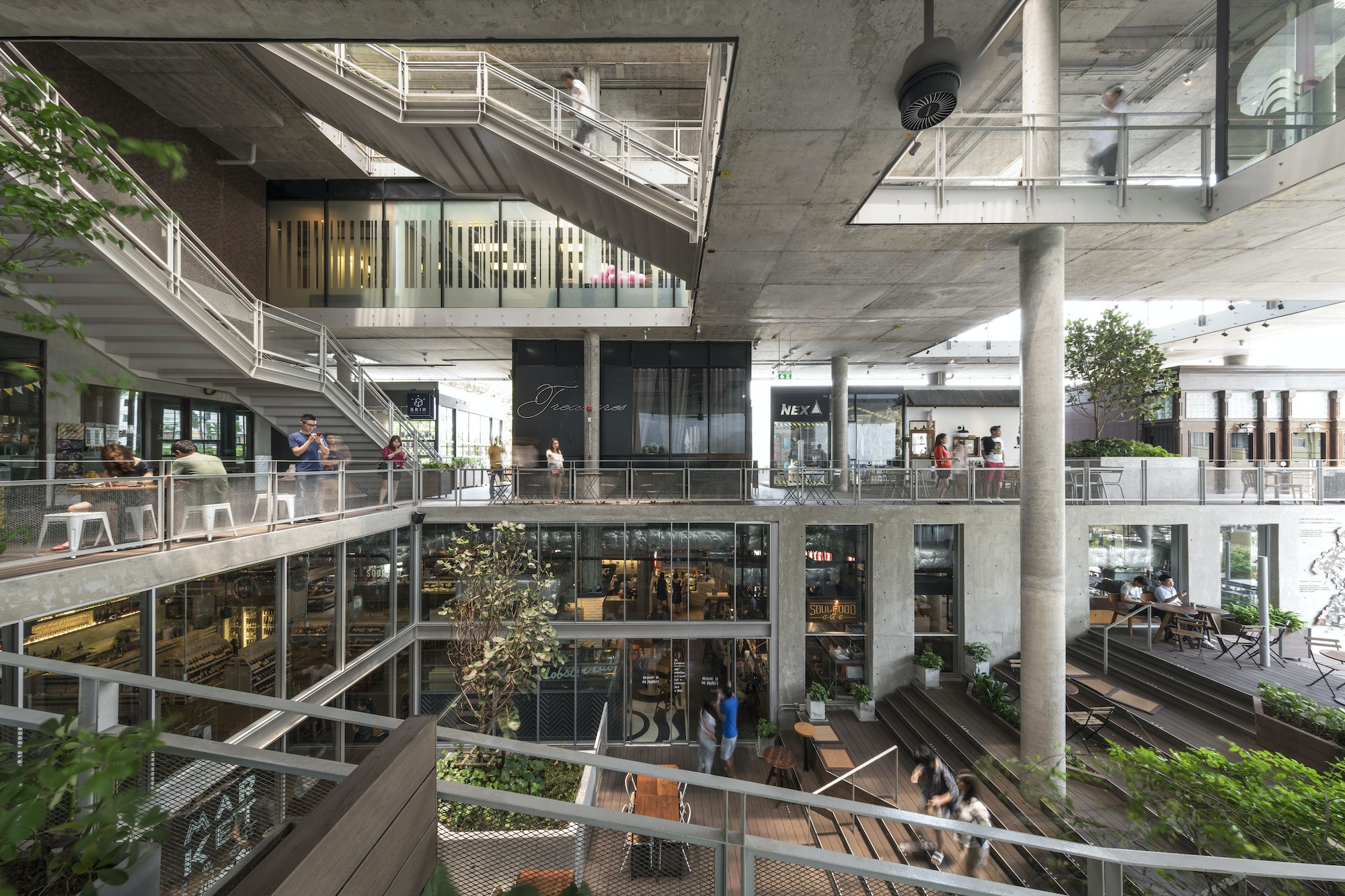 theCOMMONS—a food hall of the future