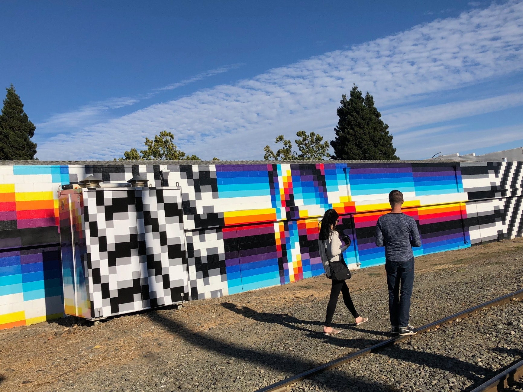 See some of Napa's latest street art with Paper Napan Walkabouts before sipping Cabernet Sauvignon at a local winery.
