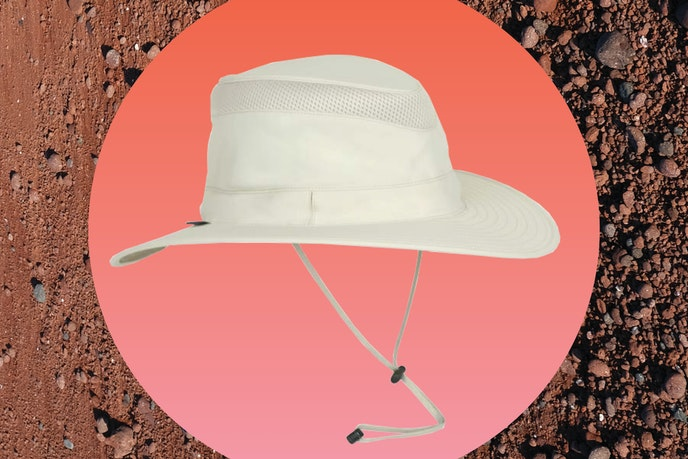 Don't let a sunburn spoil this once-in-a-lifetime journey. Wear a hat.