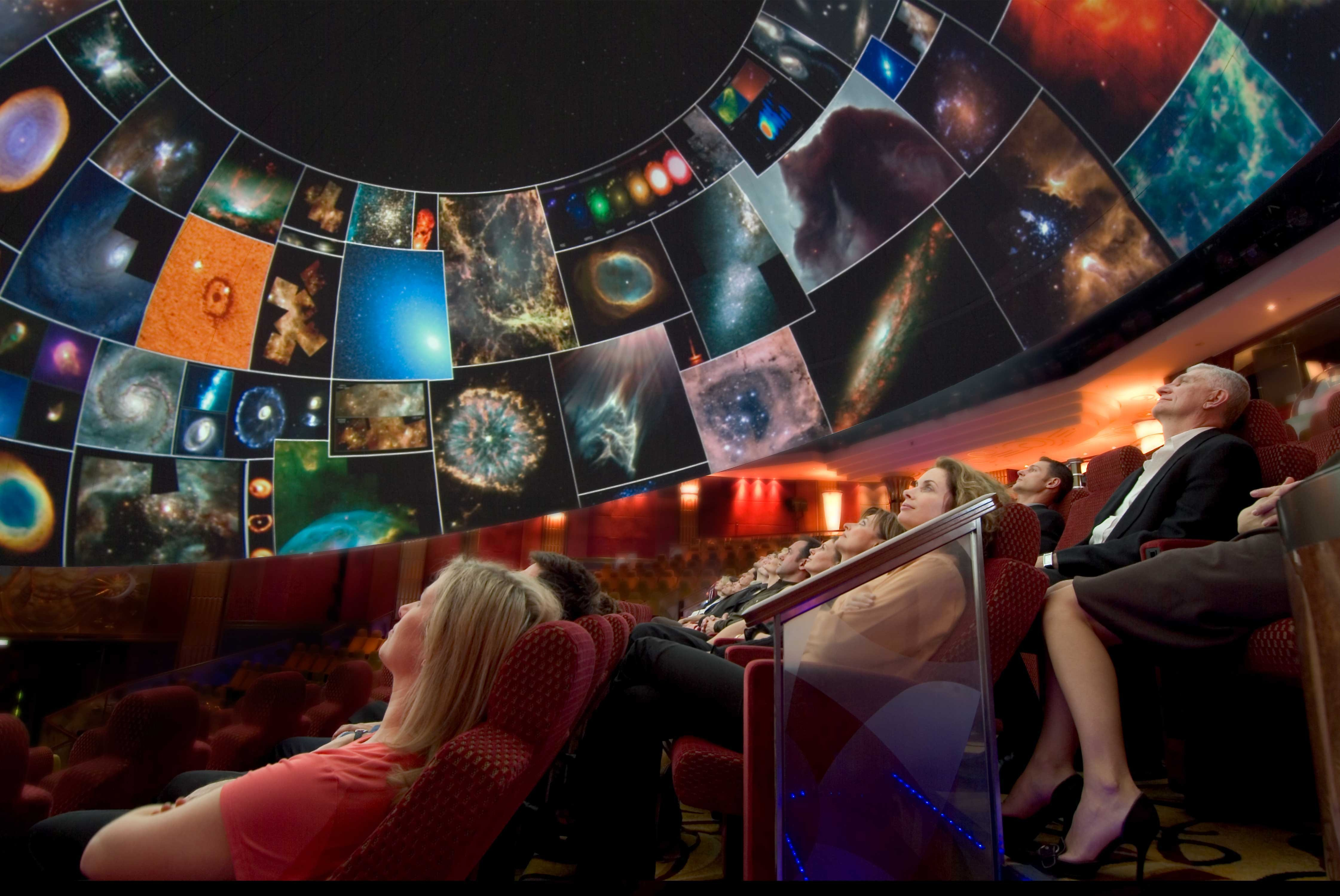 Younger travelers will appreciate the planetarium onboard the Queen Mary 2.