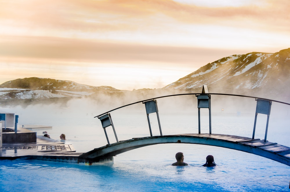 Come winter, Iceland's Blue Lagoon is even more appealing.