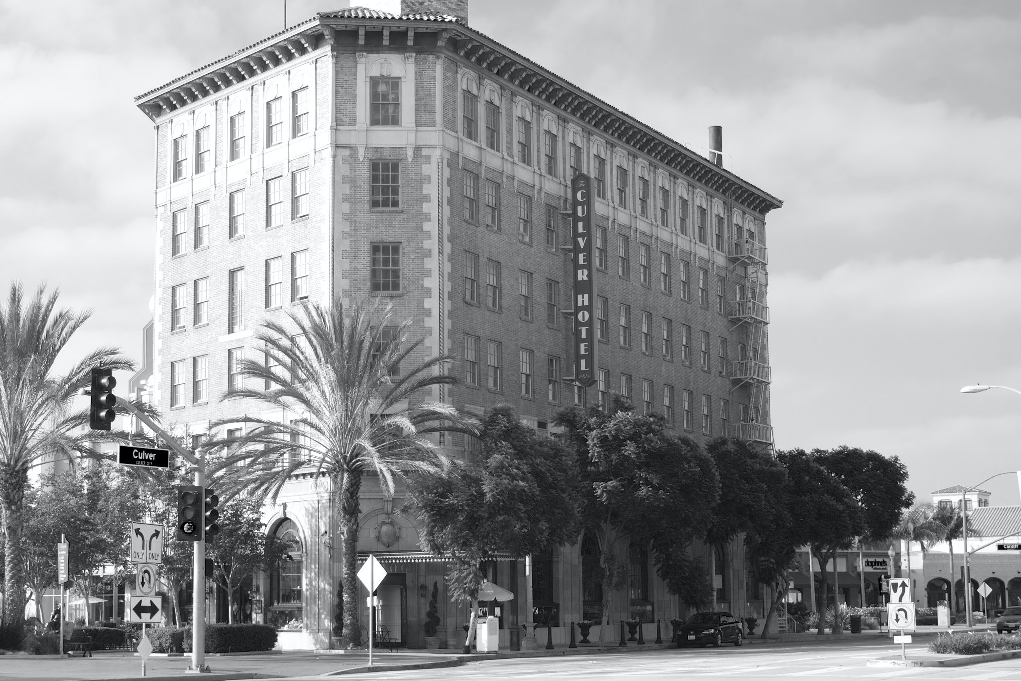 The Culver Hotel in Culver City, a distinctly walkable neighborhood