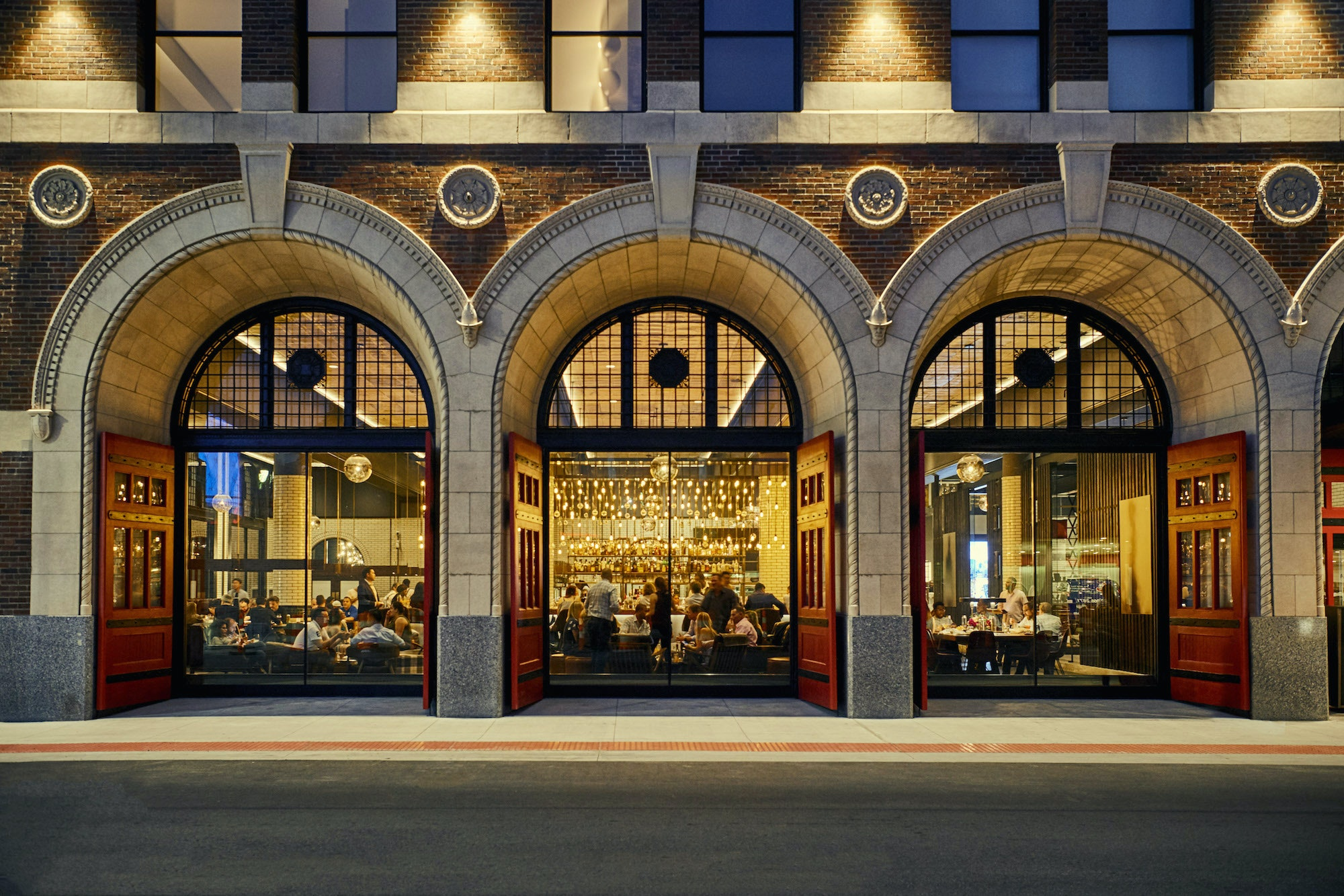 Detroit's Foundation Hotel opened in 2017 in the historic headquarters of Michigan's oldest fire department.