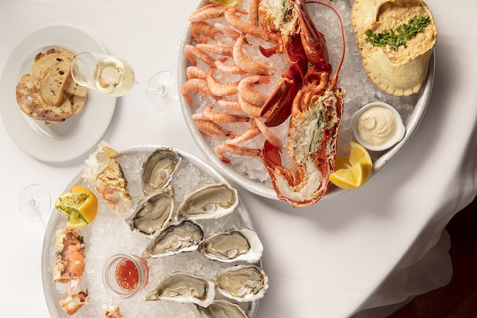 Tucked into the freshly renovated Tivoli Avenida Liberdade hotel, the new Cervejaria Liberdade is a kind of Portuguese brasserie, where seafood platter stand out.