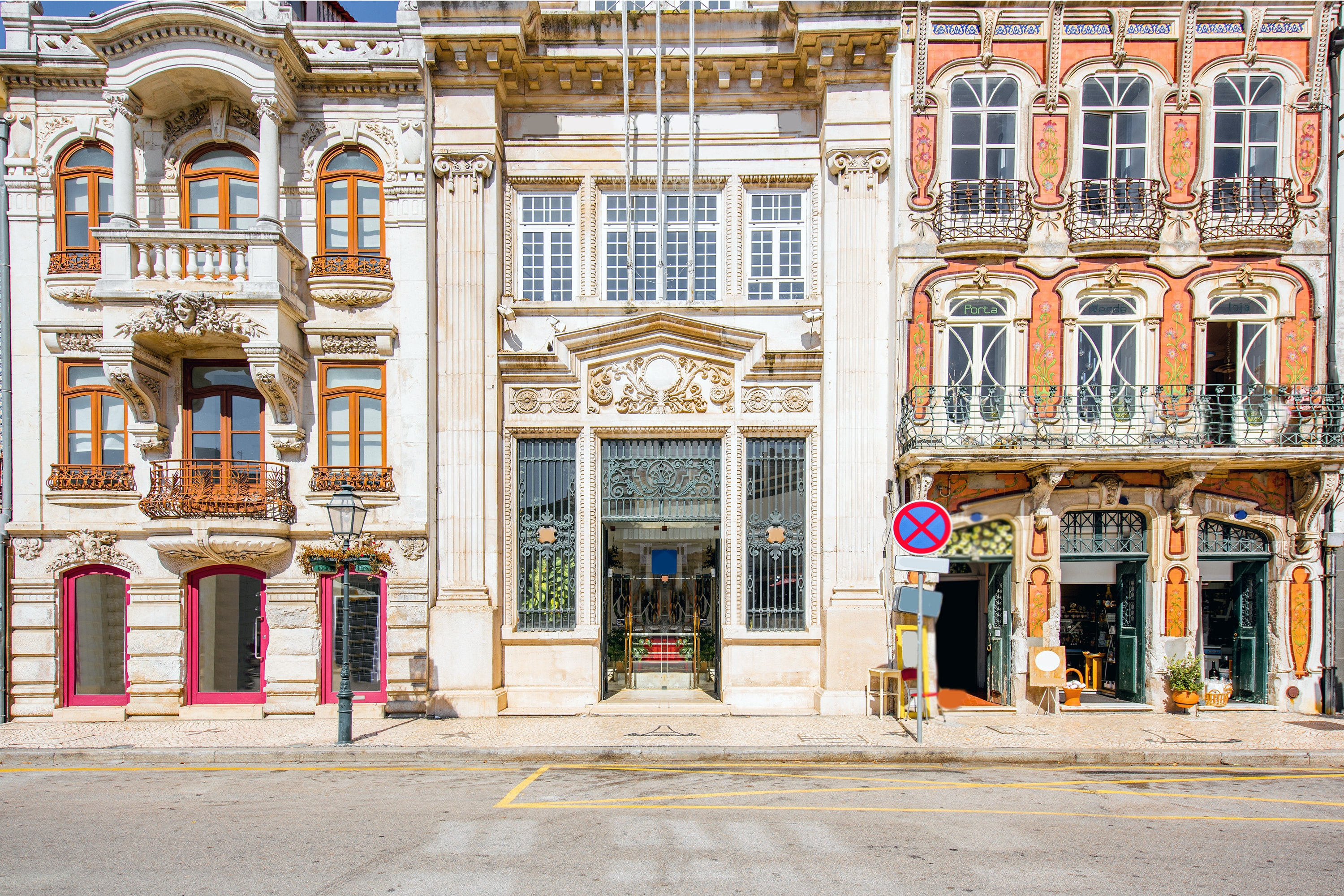 Aveiro, Portugal, is filled with art nouveau architecture.