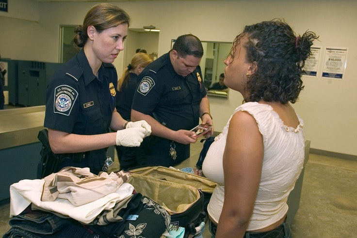 Avoid a run-in with CBP agents by brushing up on the rules and double-checking your bags for prohibited items.