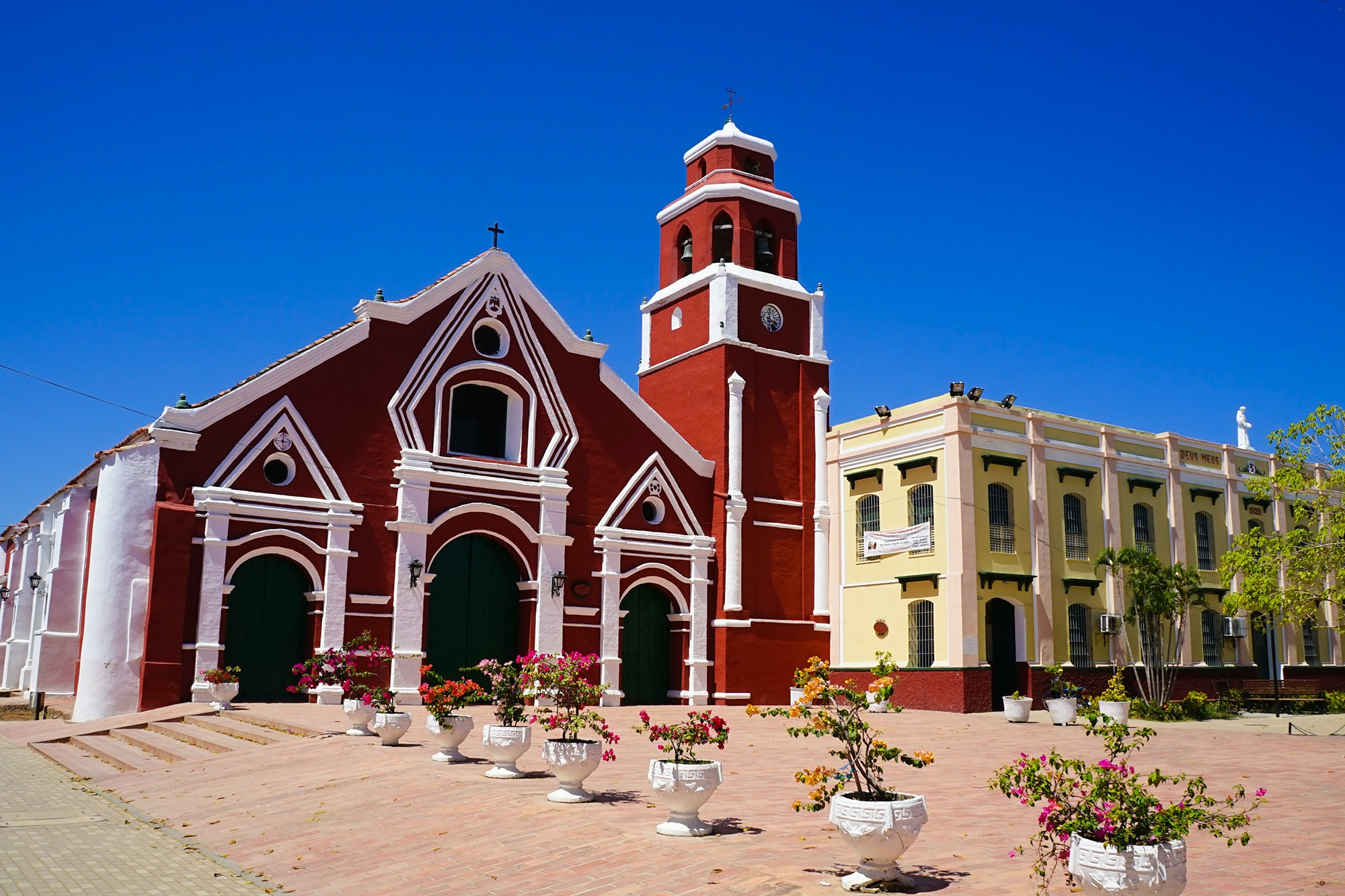 Mompox, near the Magdalena River, is a UNESCO World Heritage site.