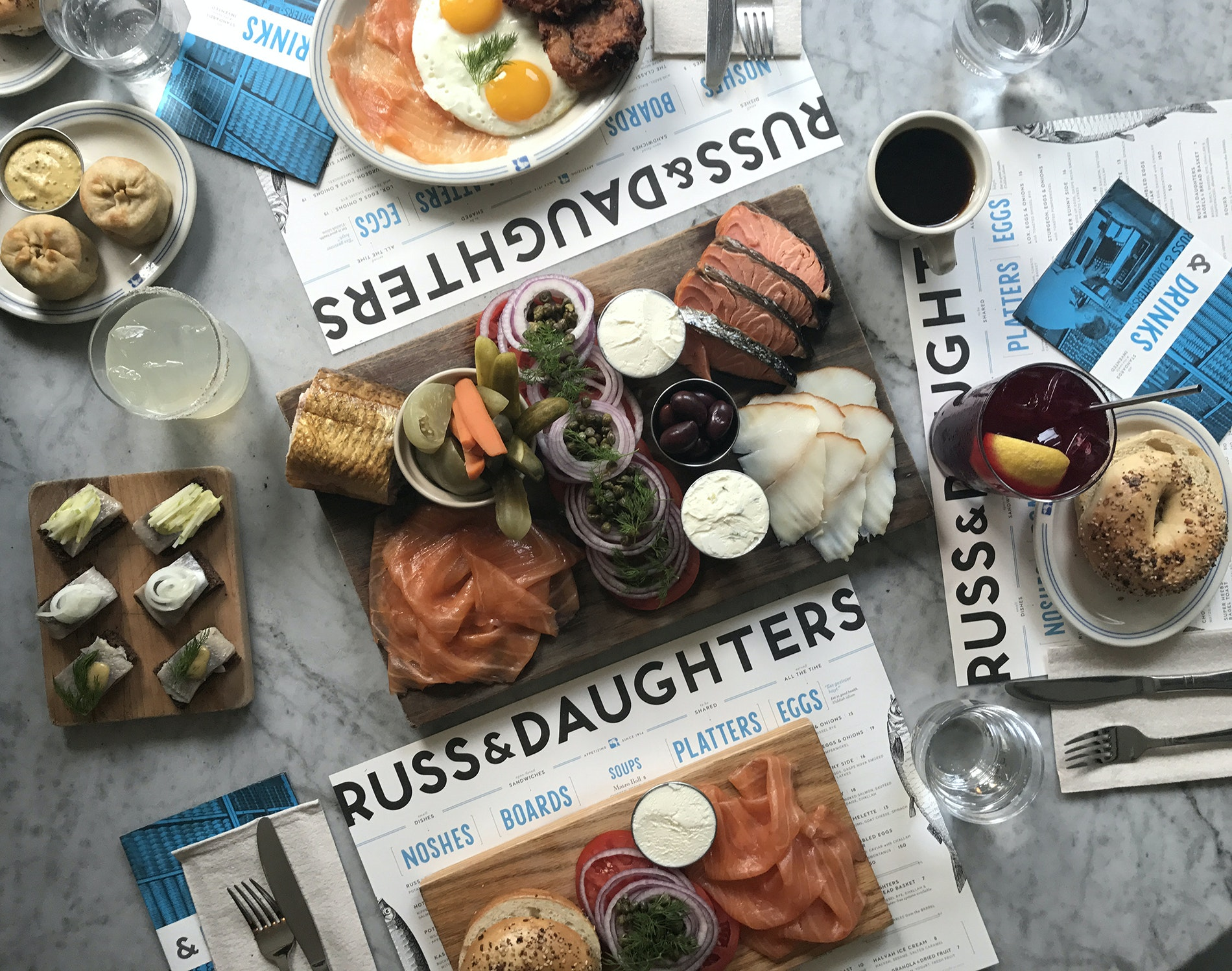 "At ""appetizing store"" Russ & Daughters, you can pick up some of the best bagels in town schmeared or loaded high with exactly what you and the kids want."