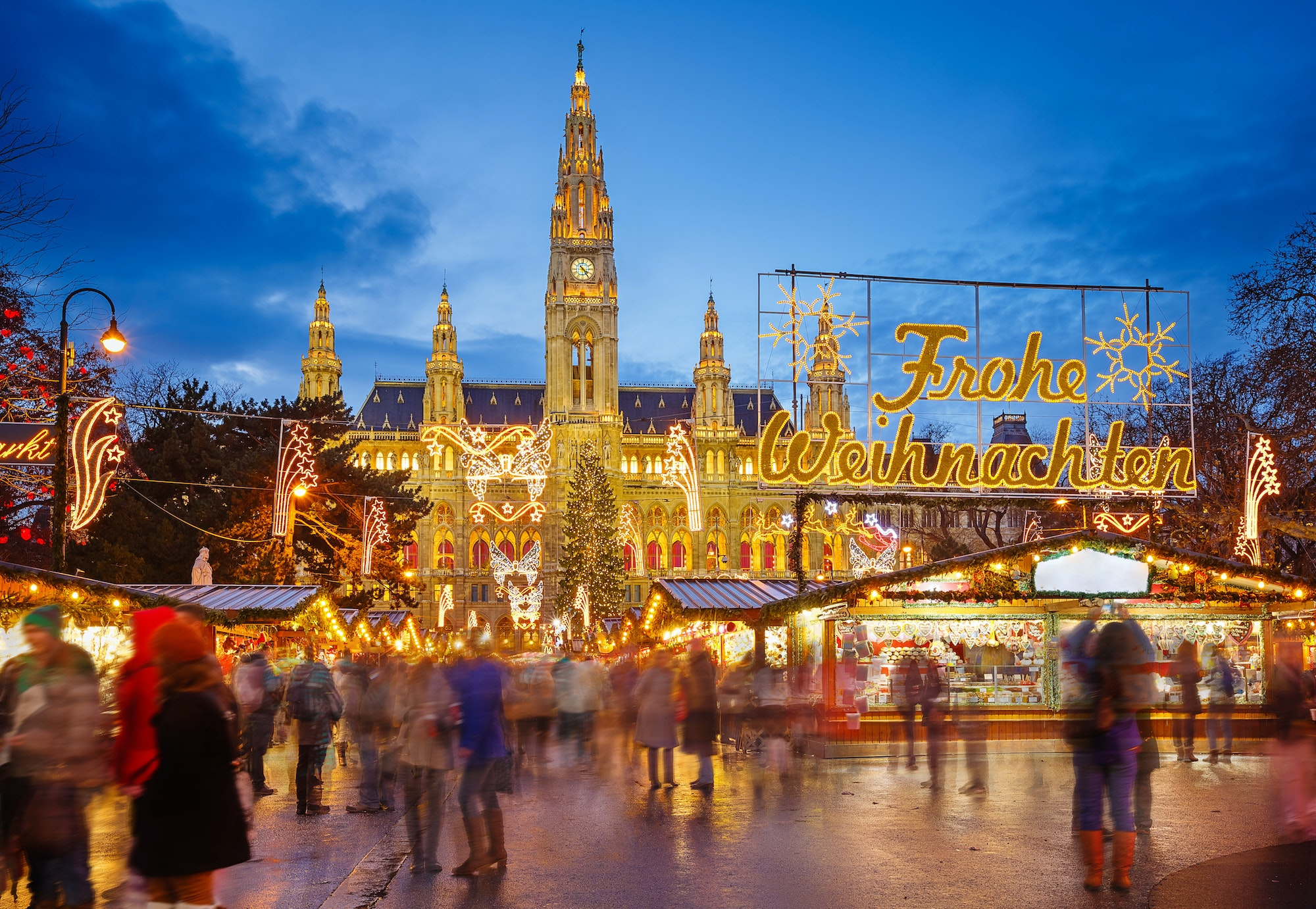 Christmas markets in Vienna date back to the Middle Ages.