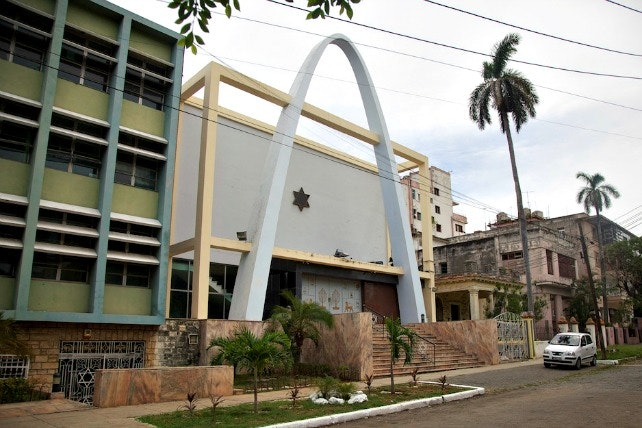 Havana's Bet Shalom Synagogue is considered the heart of Cuba's Jewish community.