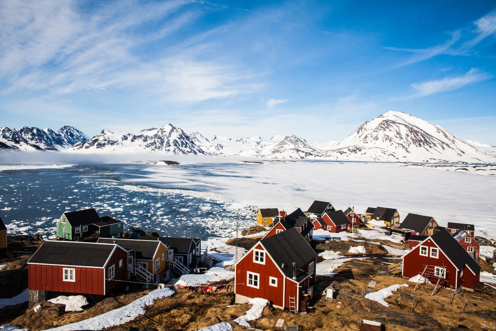 Kulusuk, a village in East Greenland
