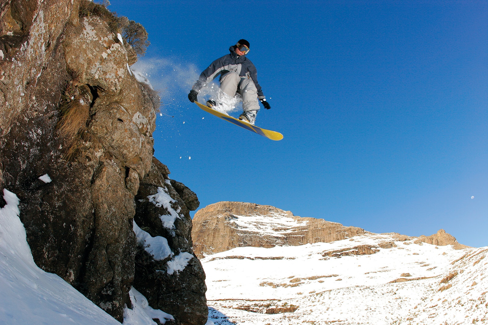 Yes, you can snowboard in Lesotho in June.