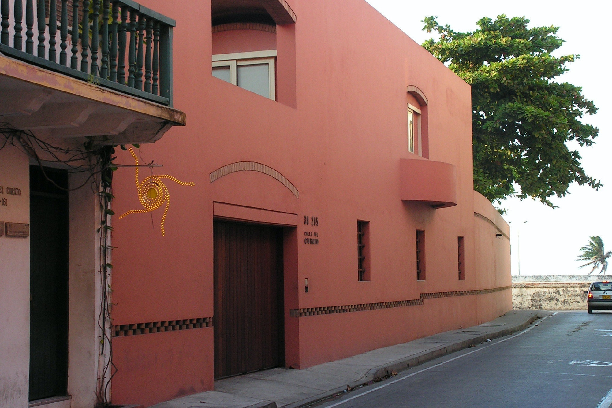 García Márquez lived in Mexico City when he died, but he still maintained this house in Cartagena in his later years.
