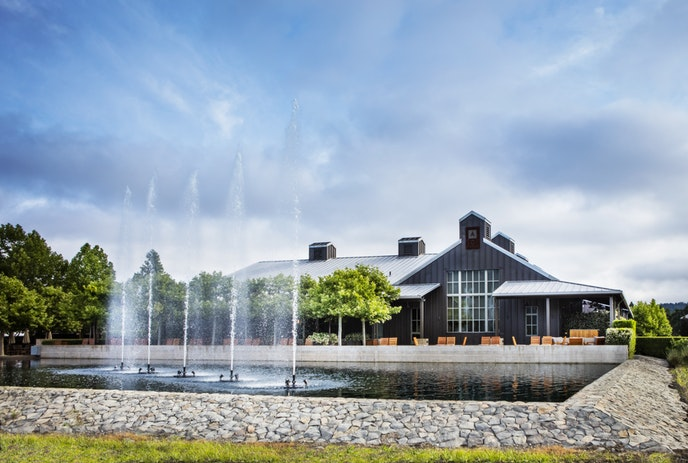 Alpha Omega Winery is both picturesque and keen on sustainability: it uses the area's largest commerical solar microgrid.