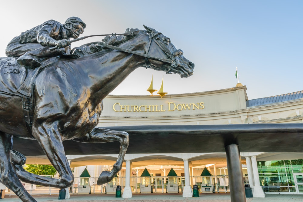 Churchill Downs opened in 1875 and has been home to the Kentucky Derby ever since.
