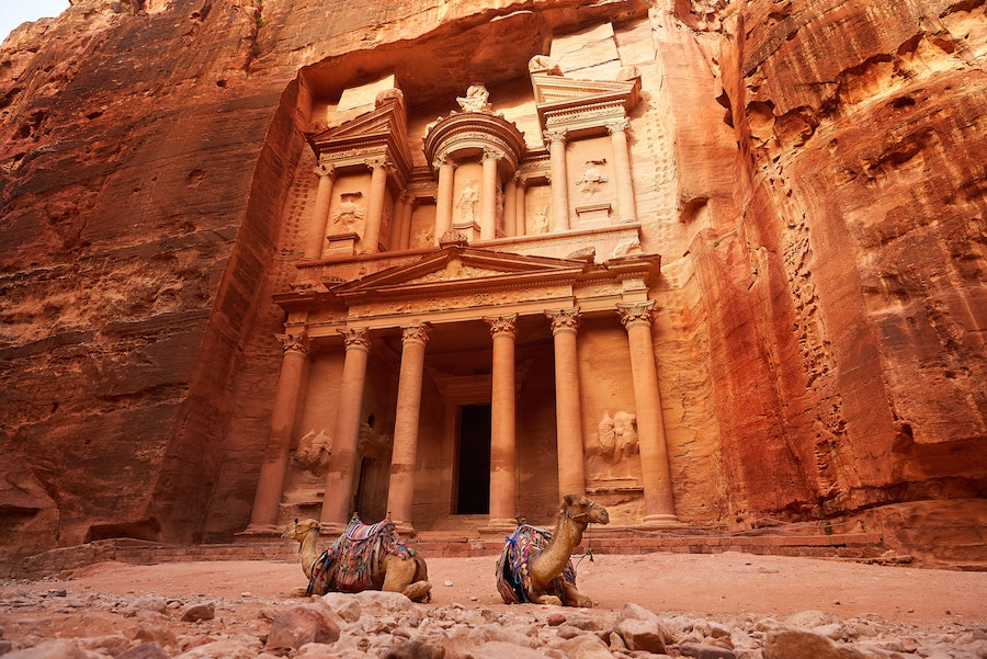 You'll encounter Petra on the Jordan Trail portion of the Abraham Path
