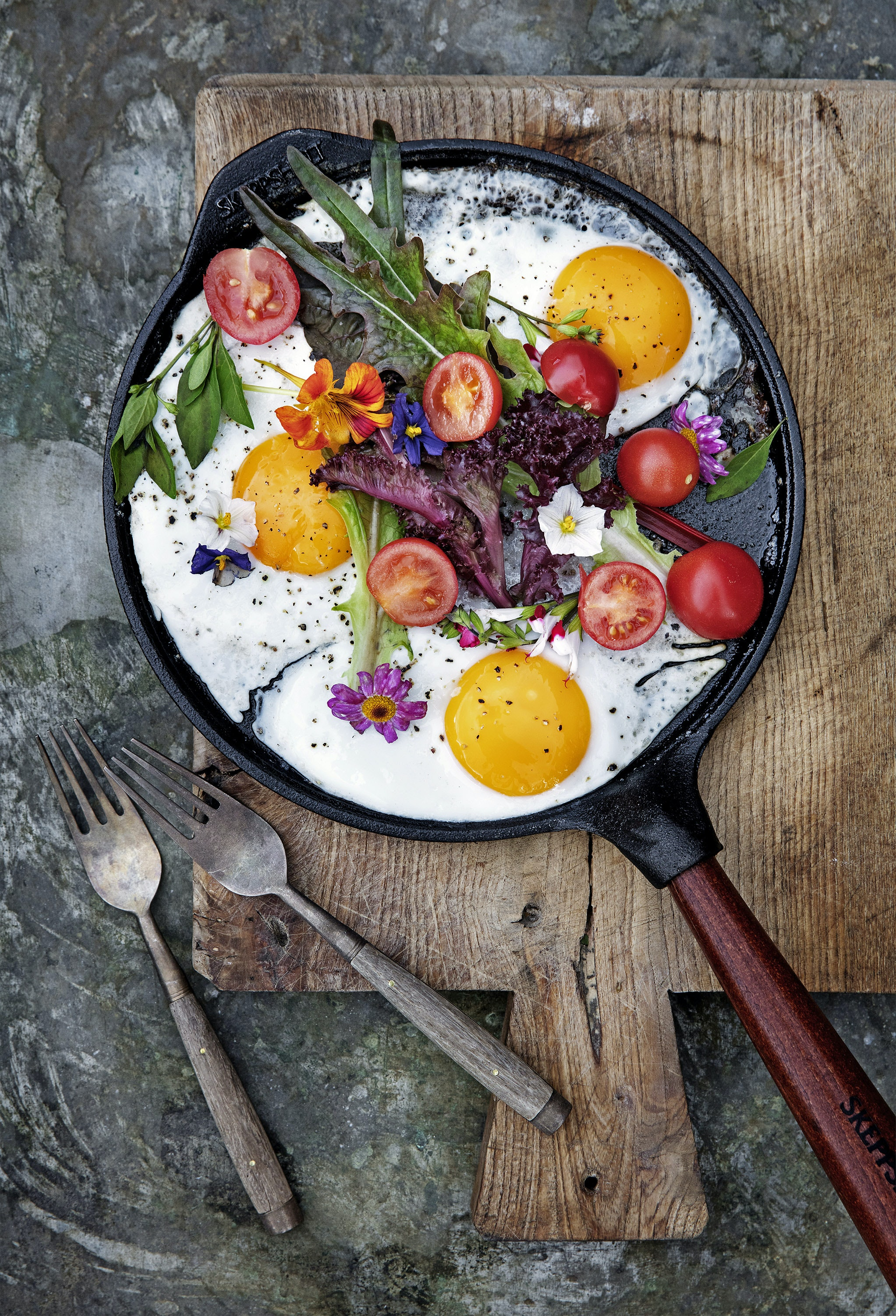 Helbæk has written four cookbooks focused on natural eating.