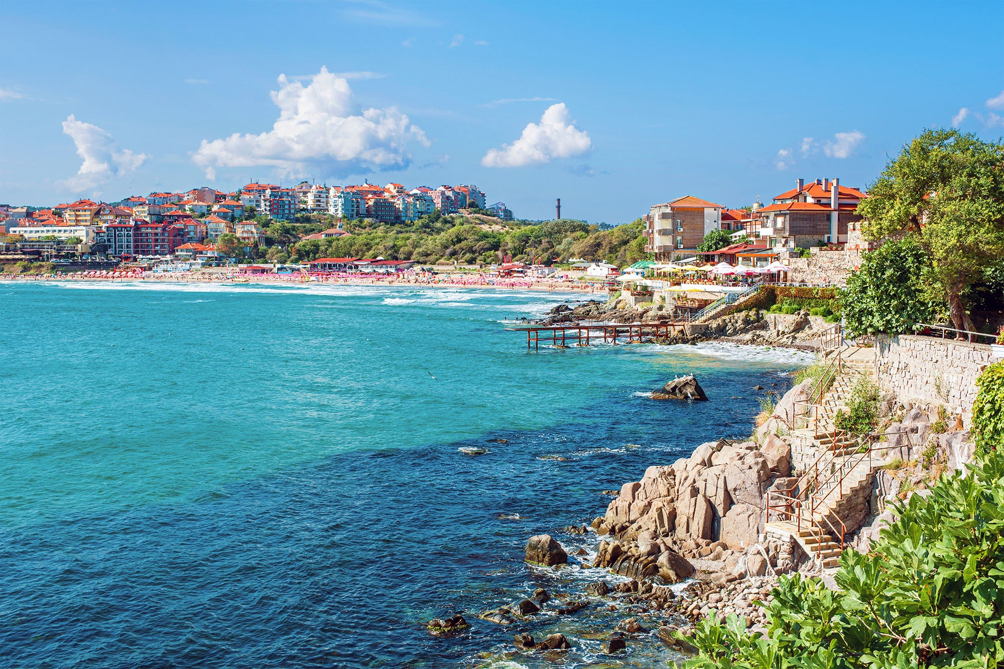 Sozopol is a favorite vacation destination for Bulgarians.