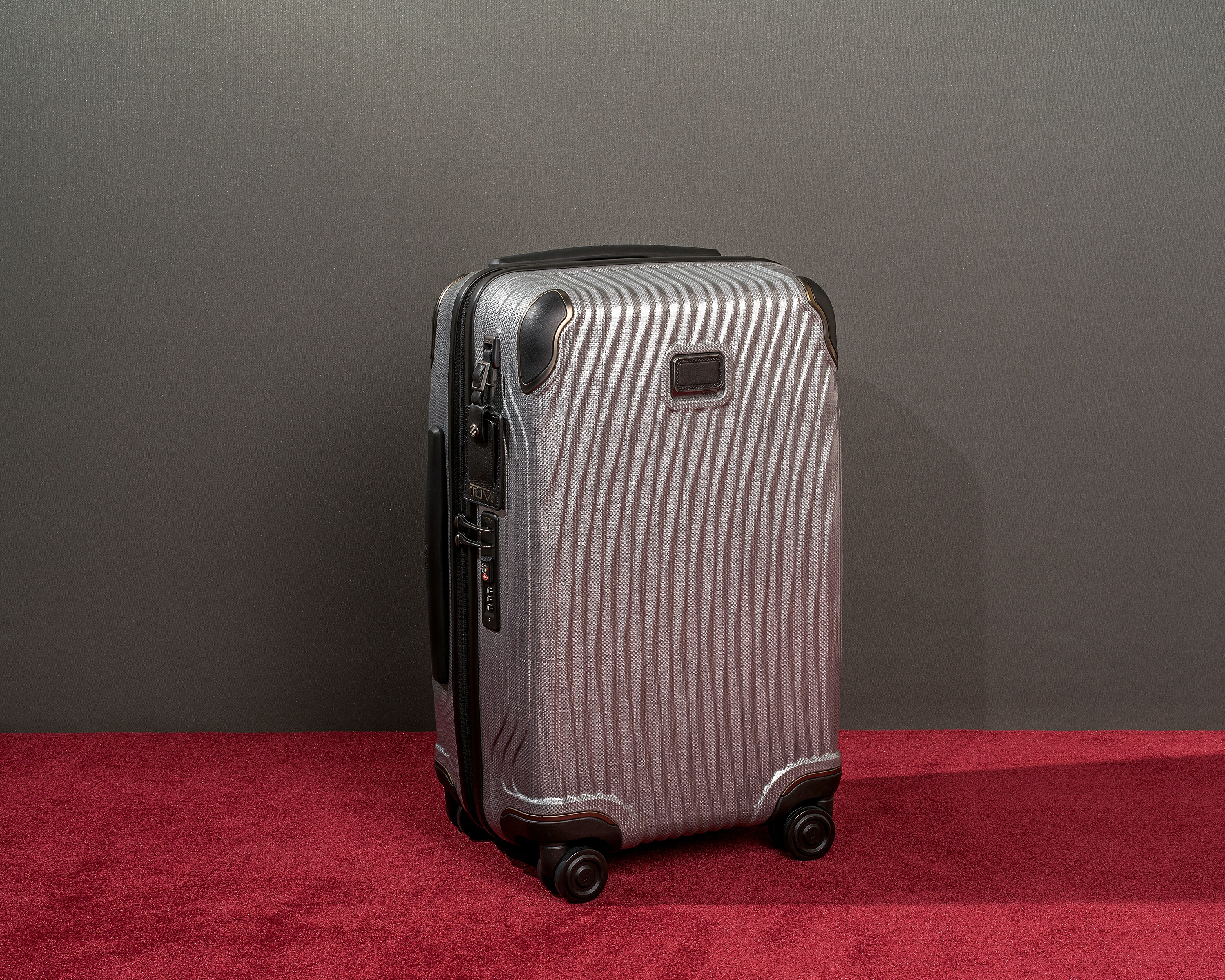 TUMI upholds its reputation for durability with its Latitude International Carry-On.