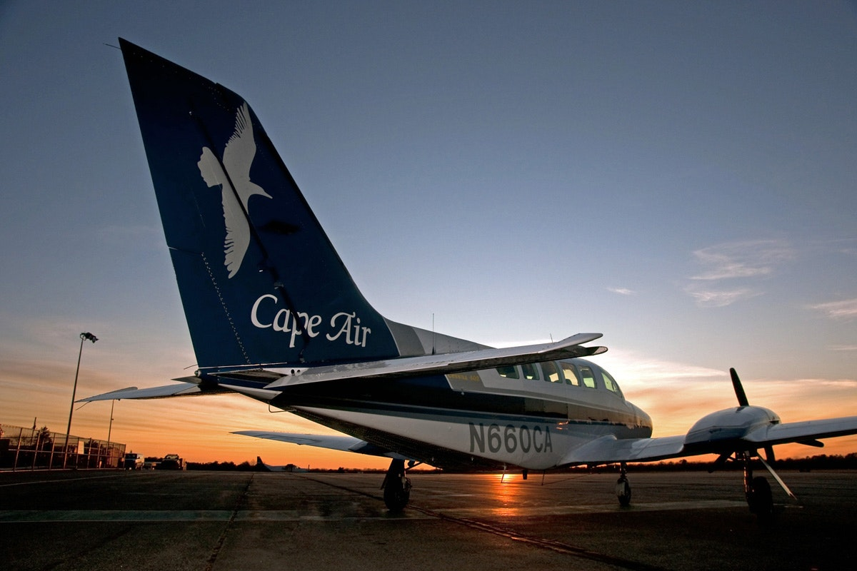 The nine-seat Cessna 402s offer an intimate contrast to standard commercial domestic aircraft.