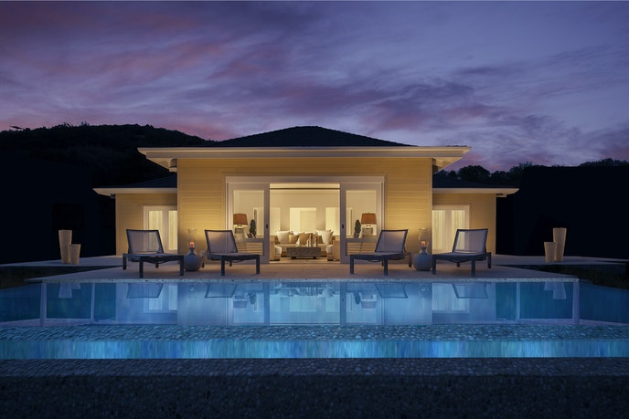 The Gingerlily mansion villa at The Liming Bequia