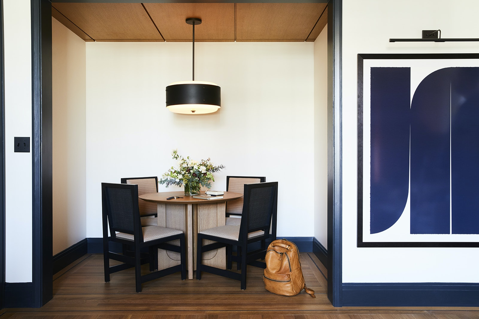 Inside a room at downtown Detroit's Shinola Hotel
