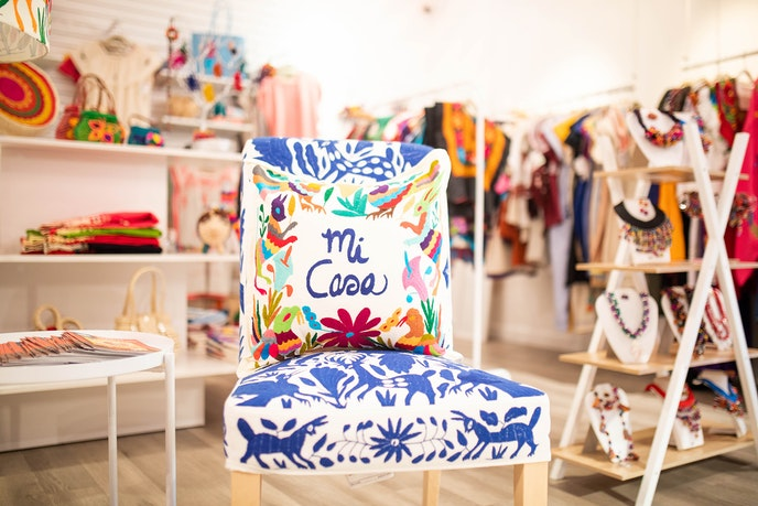 Take refuge from the Texas heat in a cute, air-conditioned boutique like Nativa.