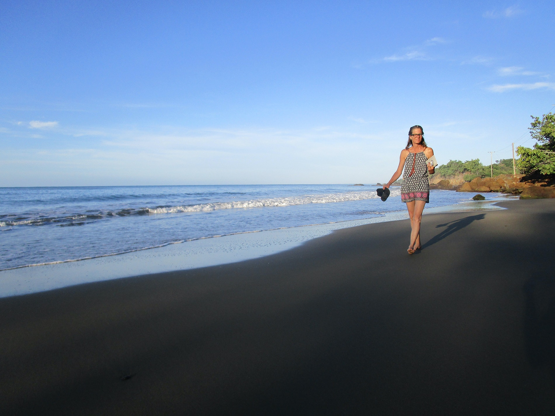 Chivirico is one of Cuba's many black-sand beaches.