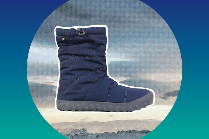 A pair of cozy slip-on boots are ideal for lounging on the ship.