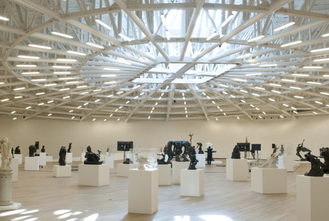 Museo Soumaya is a work of art in itself