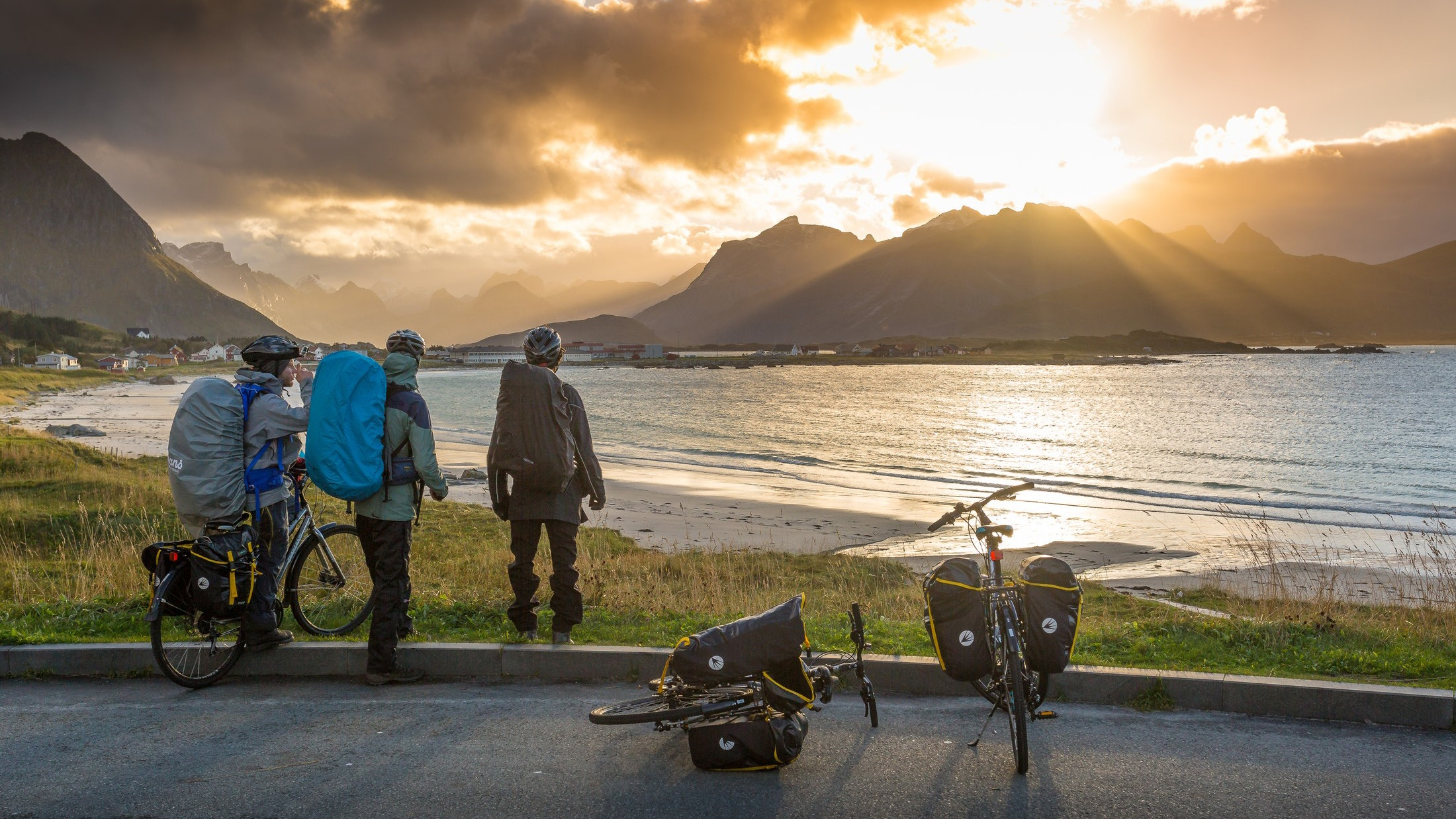 Norway's freedom to roam rights make it easy to find a place to camp on a long-distance bike trip.
