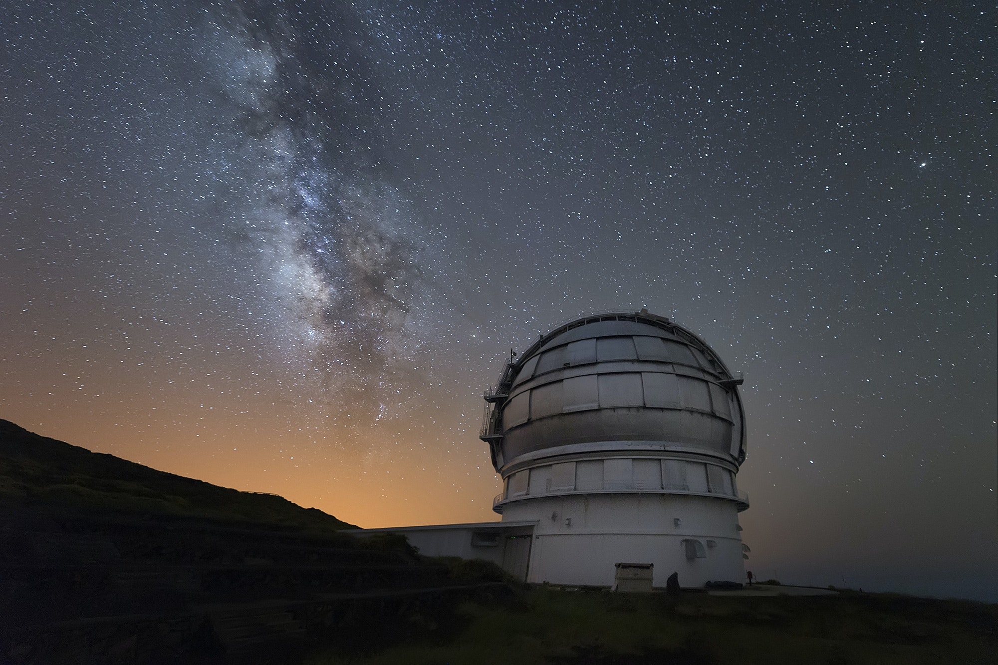 Spain's Gran Telescopio Canarias in La Palma